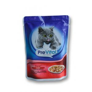 Prevital Cat Beef in Jelly 12 x 0.100 gr