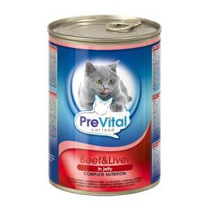 Prevital Cat Beef, Liver in Jelly 0.400 kg