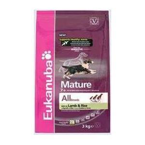 EUKANUBA Mature all breed 12 kg. senioriem no 7 gadiem