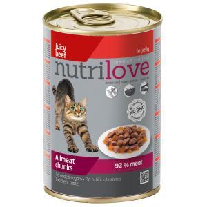 NutriLove Chunks Cat Beef in Jelly 0.415 gr