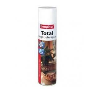 BEAPHAR Total Spray pretparazītu telpām 400ml