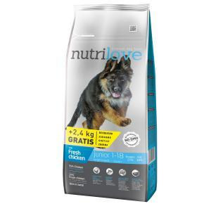 NutriloveDog Junior Large Breed 12 kg