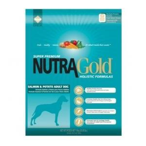 NUTRA GOLD HOLISTIC WHITE FISH & POTATO ADULT DOG 13.6 kg.