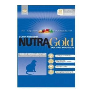 Nutra Gold Holistic Indoor Senior cat +7 kaķiem 7.5 kg