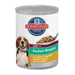Hill's Canine Adult Perfect Weight Chicken&Vegetables, 6 gab. х 0.363 kg