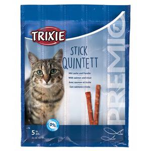 Trixie Premio Quadro-Sticks anti-hairbal, ar lasi un foreli, 4*5