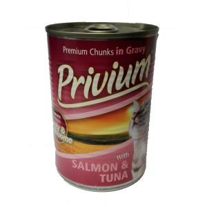 PRIVIUM CAT SALMON & TUNA 0.800 kg