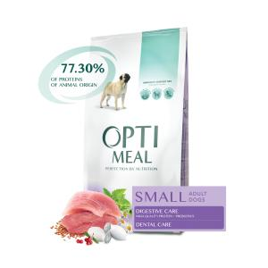OptiMeal Small Breed Adult Dog Duck 12 kg