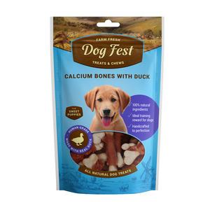 Dog Fest Calcium bones with Duck ( kalcija kauli ar pīle) 0.90 gr