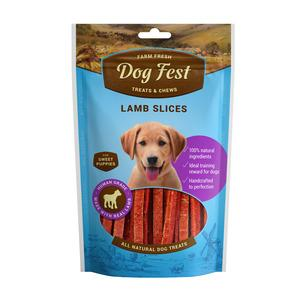 Dog Fest Lamb Slices ( jēra šķēles) 0.90 gr