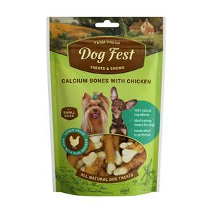 Dog Fest Calcium bones With Chicken (kalcija kauli ar vistu) 0.55 gr
