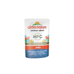 Almo Nature Nature JELLY Cats Tuna & Sole (tuncis ar buti želeja) 0.55 gr