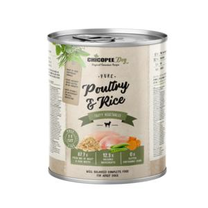 Chicopee Pure Poultry & Rice 800 gr