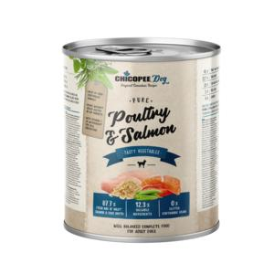 Chicopee Pure Poultry & Salmon 800 gr