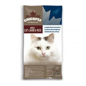 Chicopee Adult Cat  Lamb & Rice 15 кг.