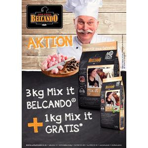 BELCANDO MIX IT GF 3 kg + 1 kg